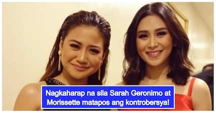 Morissette Amon reveals Sarah Geronimo's reaction when they crossed paths after controversy broke out