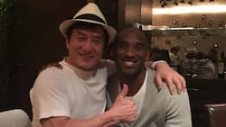SPOTTED: Kobe Bryant and Jackie Chan having dinner in Beijing