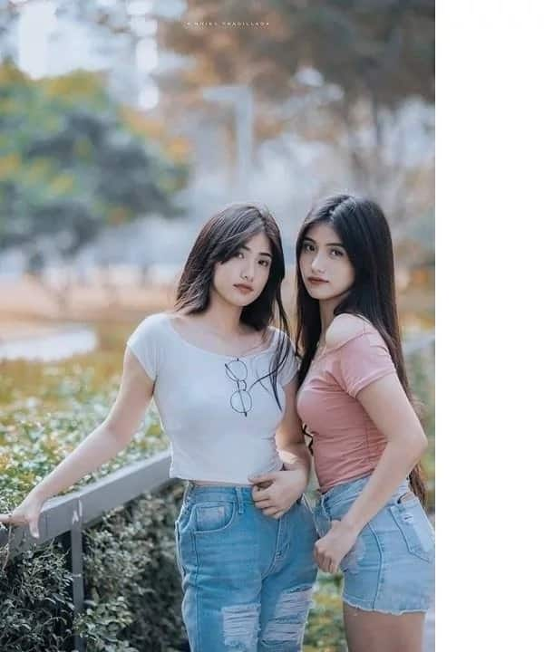 Humanga talaga ang netizens sa ganda nila! Lumen's twins from the iconic Surf commercial are all grown up