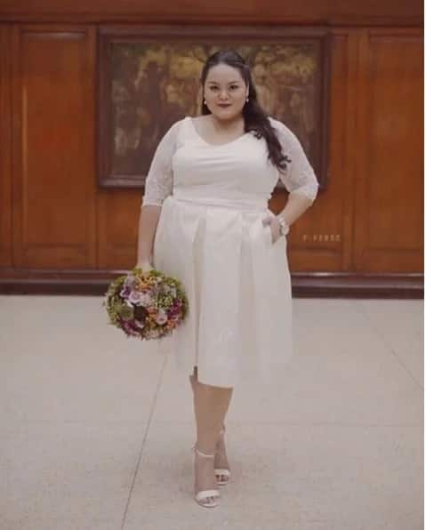 Wedding Principal Sponsors Gown: LOOK! Cai Cortez Weds Afam Bf In Manila KAMI.COM.PH