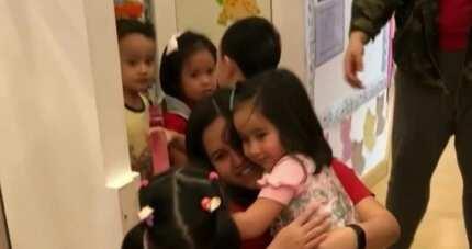 Scarlet Snow Belo's emotional reunion with former teachers & classmates