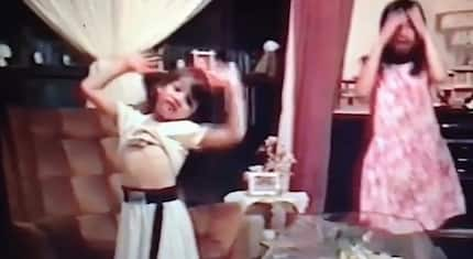 Netizens go crazy over video of Kapamilya star singing & dancing when she was just a child