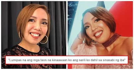'Yun ang dapat! Cacai Bautista learned to ignore bashers by accepting her imperfections