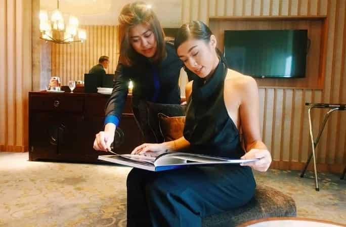 Pinanindigan na nya! Sandra Lemonon gets private lessons on 'Build, build, build' project