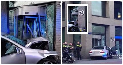 Drunk driver crashed into Heineken office building, and the beer company's response is just brilliant!