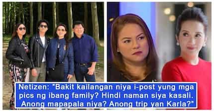 Nang-iniis daw? Karla Estrada binanatan ng mga netizens sa pagpost ng family pictures ni Herbert Bautista