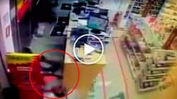 Nervous hold-upper suffers deadly heart attack while robbing grocery store
