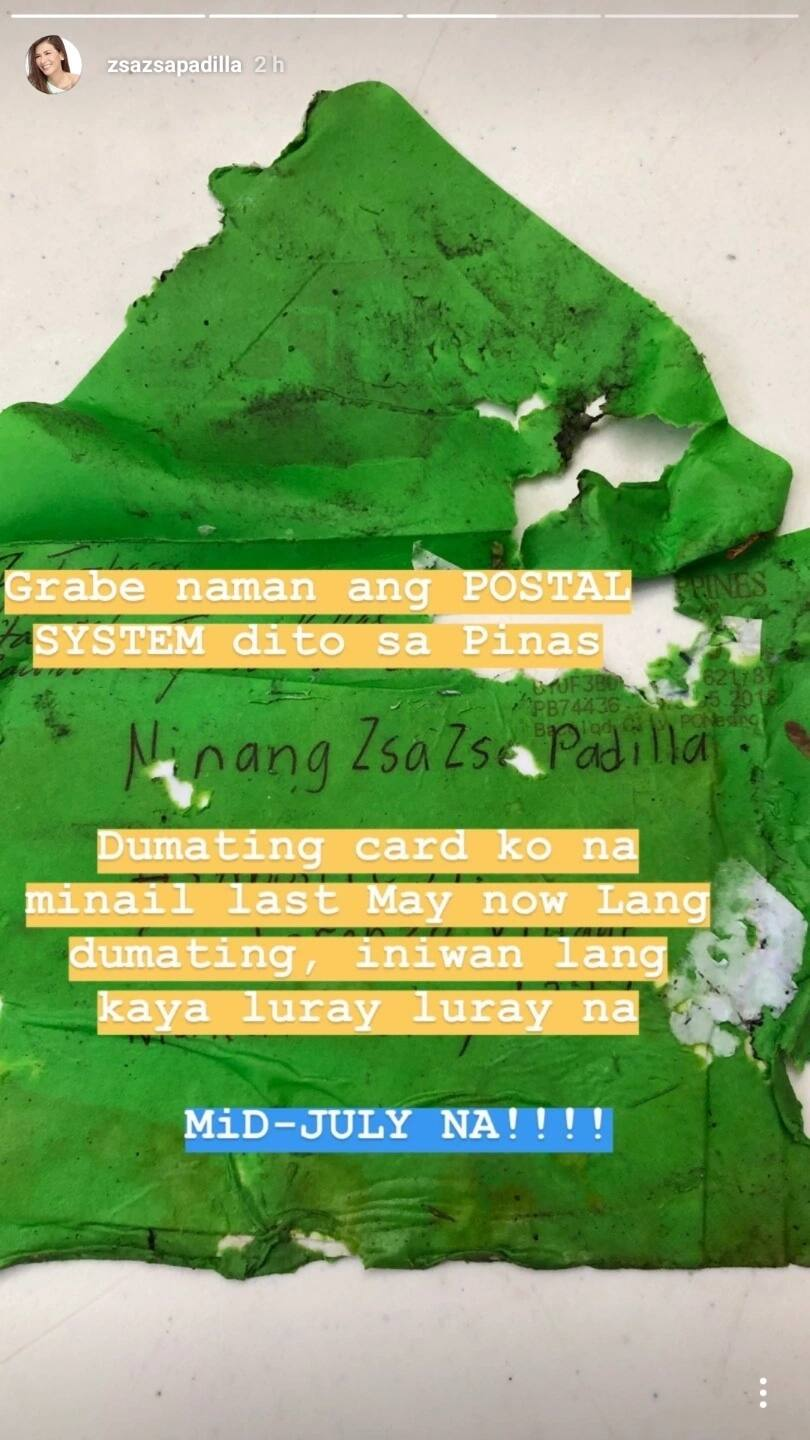 Zsazsa Padilla, furious over late and dilapidated mail! Netizens share her frustration over the country's mailing system