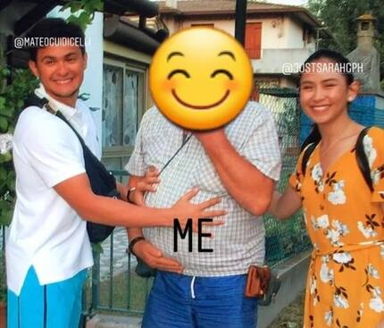 Photos of Sarah Geronimo and Matteo Guidicelli's 'secret' vacay in Italy leaked by 'distant cousin'