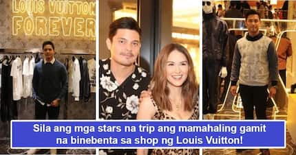 Sosyalan talaga trip nila! Celebs who have penchant for the Louis Vuitton brand reveal themselves during launch