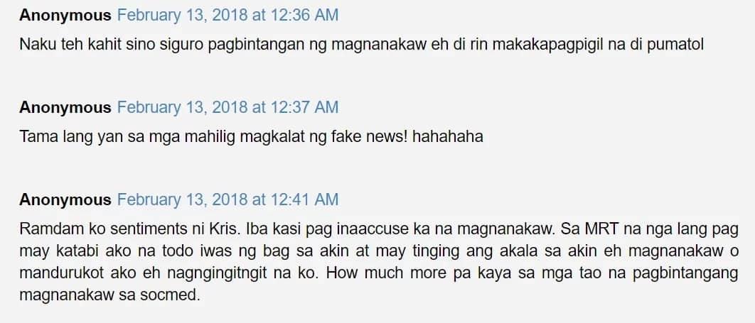 Pinagbintangan na magnanakaw! Kris Aquino reveals basher and posts warning to those who intend to attack her