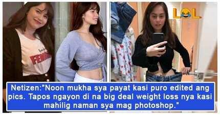Ang laki ng ipinayat! Jessy Mendiola, ibinahagi ang resulta ng kanyang pagwo-workout