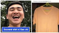 May one on one coffee date pa raw! Xian Gaza is now out of jail, sells his 'surrender' shirt for 9,000 pesos