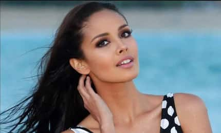 Does Megan Young have tremophobia after a freak accident in Haiti?