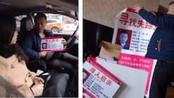 This man is just not a taxi driver. He is also a father looking for his lost daughter for 23 years