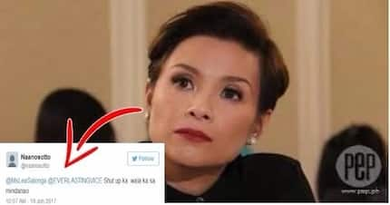 """A netizen violently reacted to Lea Salonga's statement about Martial Law which is """"Tutol ako sa Martial Law""""!"""