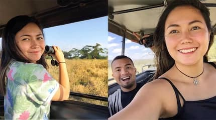 Yeng Constantino shares 'best vacation ever' with husband in Africa
