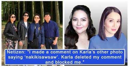 Kris Aquino, sumang-ayon sa mga netizens sa dapat gawin sa ginawang 'pakikisawsaw' di umano ni Karla Estrada
