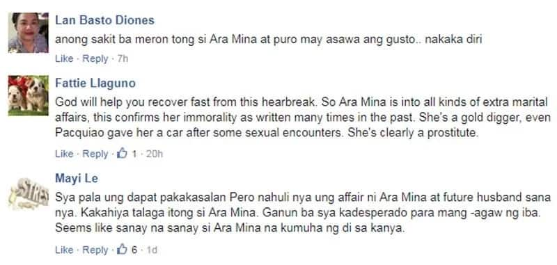 Ara Mina accused as 'immoral, gold digger and prostitute' after Rina Navarro broke silence on betrayal issue