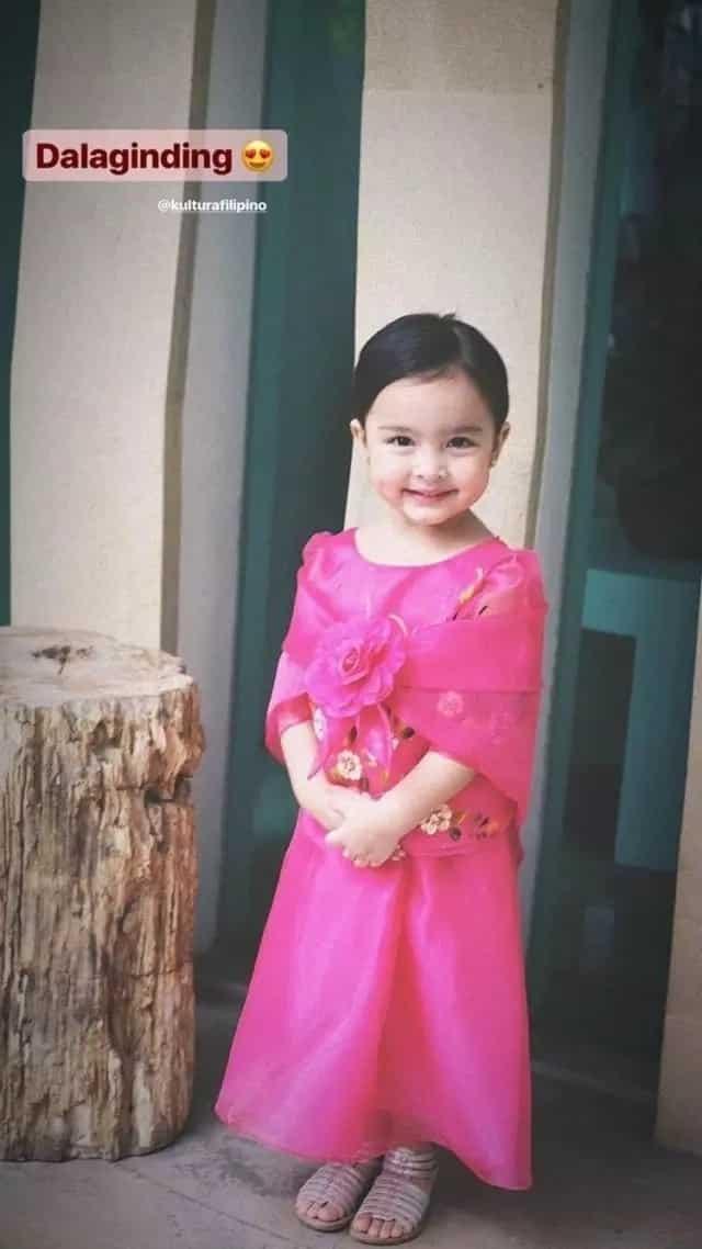 Zia Dantes, cute na cute sa kanyang Buwan ng Wika outfit