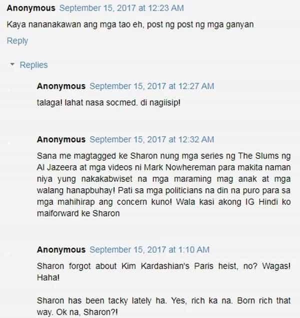 Sharon Cuneta posts pics of her vault and tags KC Concepcion