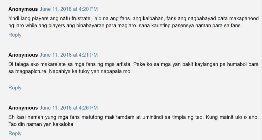 Sama raw ng ugali? Nag-viral ang video ng paninigaw ni Gilas Cadet Ricci Rivero sa mga fans na lumapit sa kanya para magpa-picture