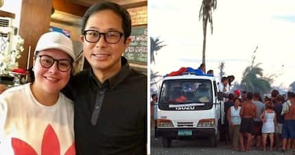 Tulong na di pakitang-tao! Karla Estrada nagbigay pala ng 2 buses puno ng relief goods sa Yolanda victims at hindi nagpa-media