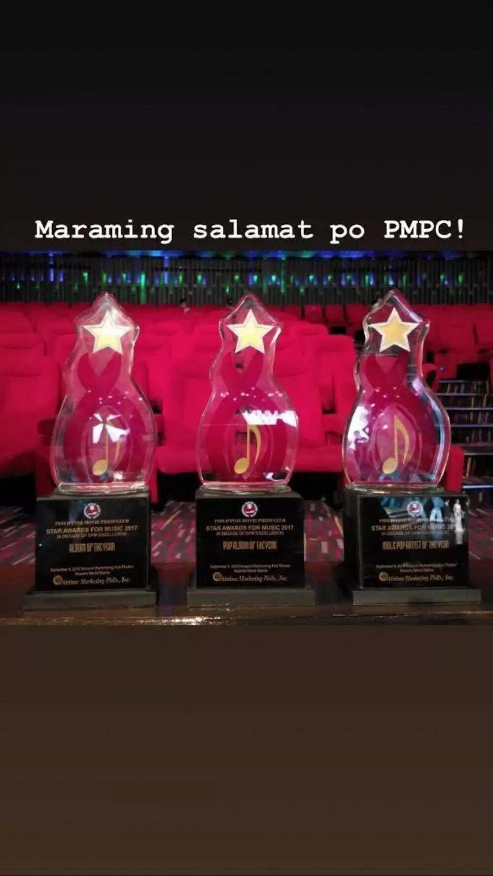 Super galing! Alden Richards, humakot ng parangal sa PMPC Star Awards for Music