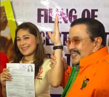 Kapuso actress Sheryl Cruz files COC to run as a councilor