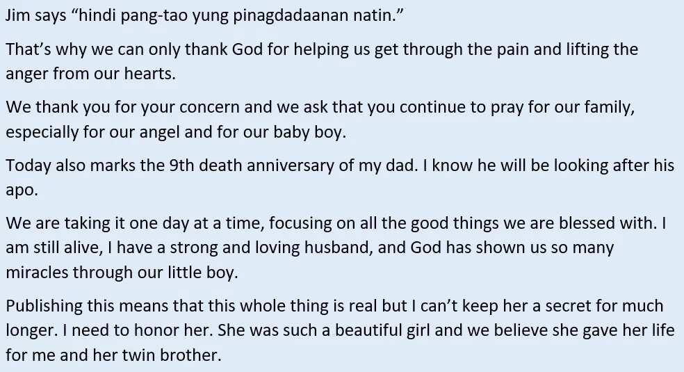 Hindi raw pang-tao ang dinanas nila! Saab Magalona shares emotional recount after losing her baby girl