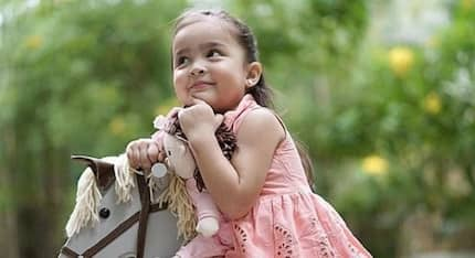 Zia Dantes receives an awesome gift from a toy company