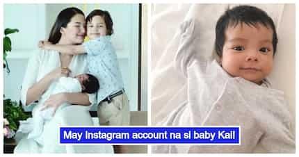Sarah Lahbati & Richard Gutierrez's super cute baby Kai now has an Instagram account