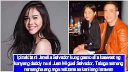 Janella Salvador shares a sweet photo with her father Juan Miguel Salvador