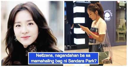 In or Out? Reaksyon ng netizens sa 'mahal na plastic bag' ni Sandara Park