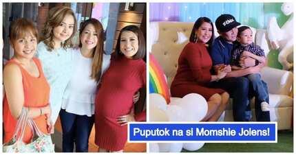Sobrang laki na ng tiyan niya! Photos of Momshie Jolina Magdangal's rainbow-themed baby shower for baby Vika Anaya