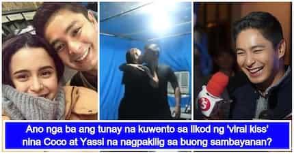 Coco Martin, nagsalita na tungkol sa 'viral kiss' nila ni Yassi Pressman
