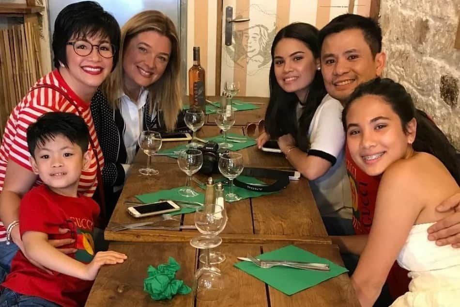 Regine Velasquez reveals how her son discovered that Ogie Alcasid and Michelle Van Eimeren were once married