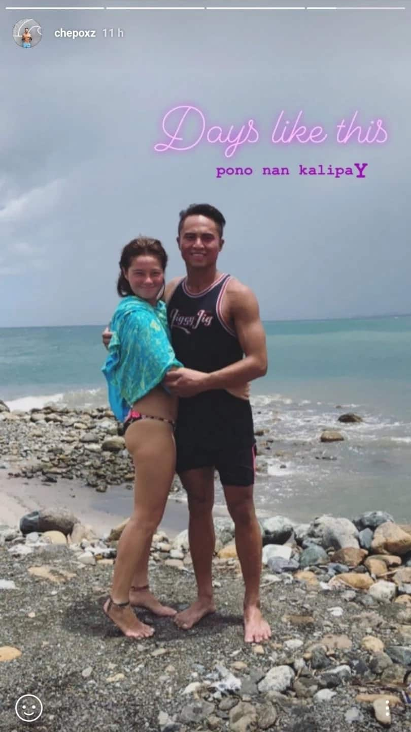 Andi Eigenmann stirs rumors of new boyfriend after sweet photos with 'hot Siargao surfer' emerged
