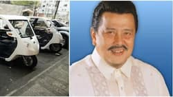 Estrada gets rid of gasoline-run trikes in Manila City