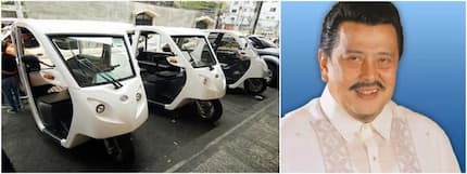 Estrada gets rid of gasoline-run trikes in Manila City