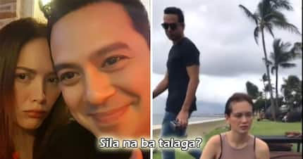 Di na paawat and dalawang 'to! Ellen Adarna and John Lloyd Cruz wait for sunset together, eliciting more questions from fans, 'Sila na ba?'