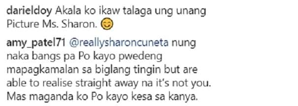 Awat na raw Mega! Netizens react on Sharon Cuneta's post that she was once likened to Phoebe Cates
