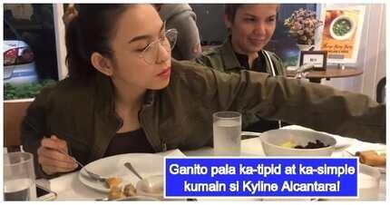 Video ng matipid at simpleng pagkain ni Kyline Alcantara, nagviral sa social media