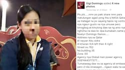 Pleading OFW in Qatar seeks help to go home to the Philippines because her employer is allegedly hurting her