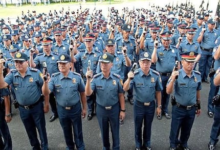 PNP credits Duterte for rise in arrests and kills