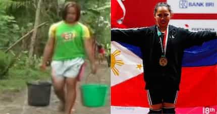 Hidilyn Diaz, paglilinis ng sasakyan at pagebenta ng isda ang kinabubuhay bago mag-weightlifting