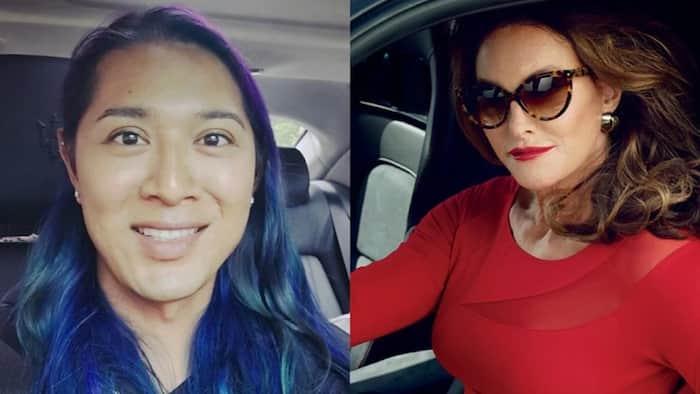 Mahilig sa sasakyan! Angelina Mead King encounters Caitlyn Jenner at a car show