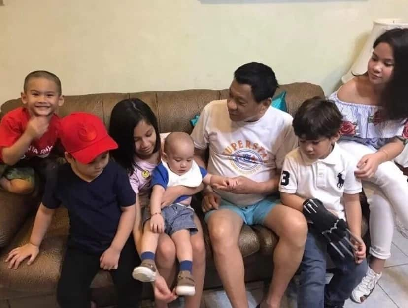 President Duterte celebrates 73rd birthday by spending quality time with his grandkids