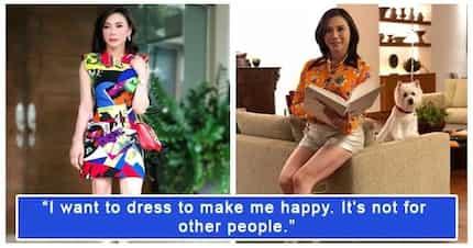 Keber! Dra. Vicki Belo dresses to express and not to impress