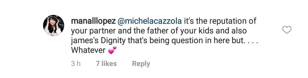 Nagsalita na si Michela Cazzola!